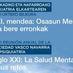 Reunión anual 2019 de la Sociedad Vasco – Navarra de Psiquiatría